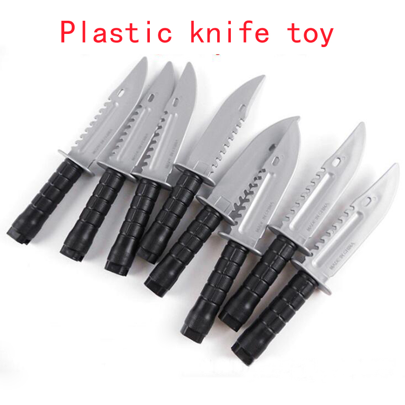 New Plastic Knife Toy Model Children's Military Equipment Stage Props Toys