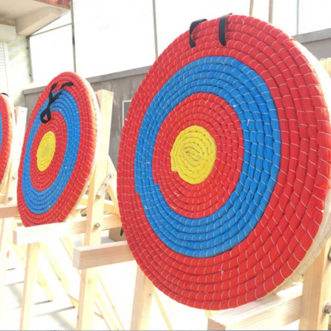4d8dbc6857f 1Pcs Outdoor Sports Archery Straw Bow Arrow Target Single Layer Bow Hunting  Shooting Lightweight Shooting Board