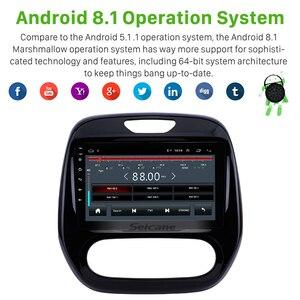 Image 3 - Seicane Android 2DIN samochodowy panel główny radio samochodowe odtwarzacz multimedialny gps dla Renault Captur CLIO Samsung QM3 instrukcja A/C 2011 2016
