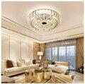 ZYY Золотой американский стиль ретро люстры LED Хрустальное освещение для гостиной спальни зала отеля ресторана столовой моды
