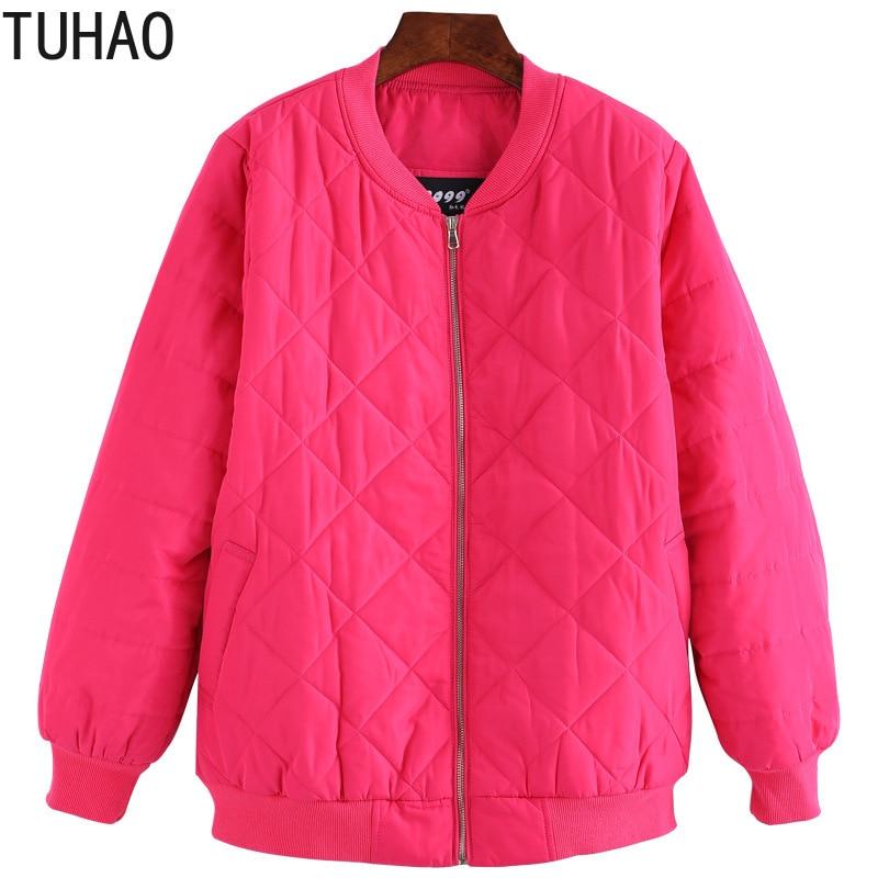 TUHAO 2018 Herbst Winter Frauen Jacke Plus Größe 10XL 9XL 8XL Frauen Winter Mode Oversize Jacken Mäntel für Büro Dame MSFS-in Parkas aus Damenbekleidung bei  Gruppe 2