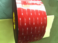 Free Shipping 24mmx33m 3M VHB 5925 Dark Grey Acrylic Double Sided Foam Tape 0.64mm Thick