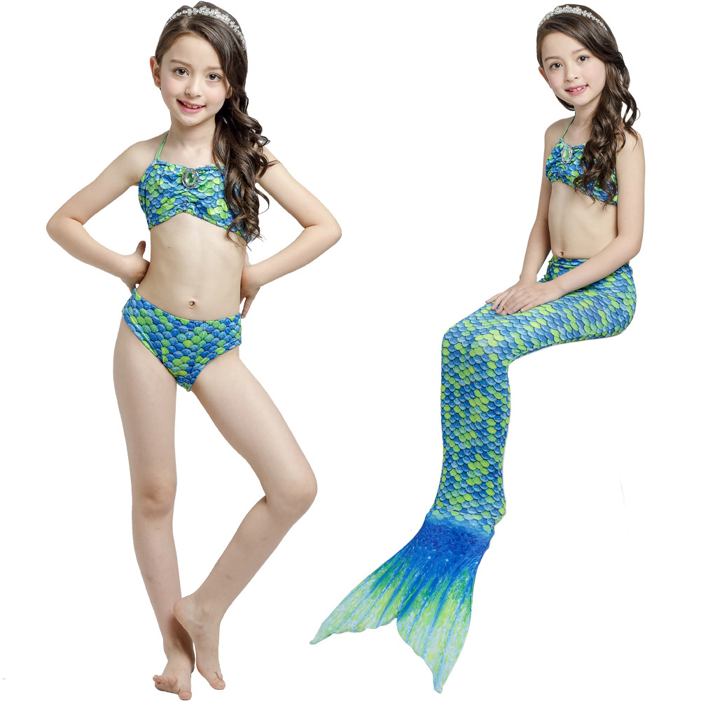 Child Mermaid Costume Sets Girl Tail Dresses For Children Toddlers Ladies Skirts Costumes Women Halloween