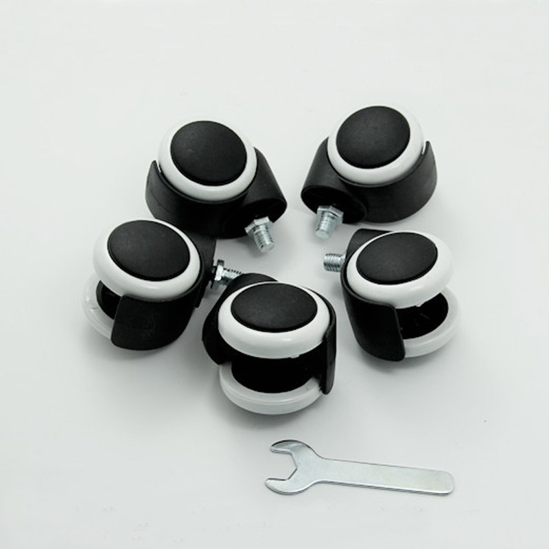 5 Pieces For A Lot Screw Office Chair Caster