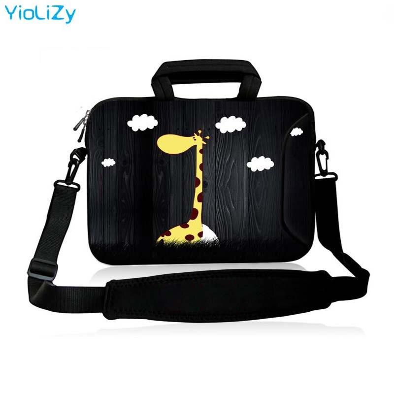 Notebook Sleeve Tablet Case Cover Laptop Shoulder Bag 10.1 11.6 13.3 15.4 15.6 17.3 Inch Messenger Bag Women Handbag SB-24501
