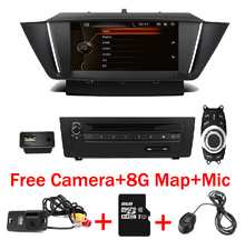 цена на 9Android 9.0 Car DVD Player for BMW X1 E84 2009-2015 1080P USB SD Radio Stereo BT GPS Navigation system Free GPS MAP