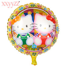 XXYYZZ Globos Pokemon Pikachu Foil Balloons Inflatable Balloon Kids Birthday Party Decorations Baby Shower Supplies Gift For Kid(China)