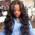 Peruvian Virgin Hair With Closure Pervian Body Wave With Closure 4 Bundles 7A Rosa Unprocessed Human Virgin Hair With Closure