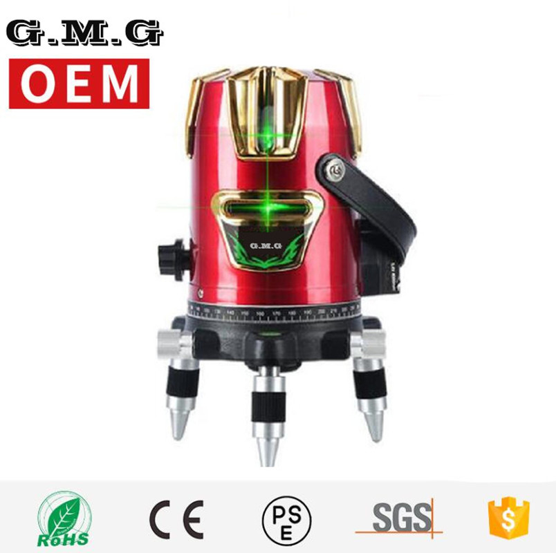 5 Lines 6 Points Laser Level 360 Vertical & Horizontal Rotary Cross Laser Line Leveling Can Be Used w/ Outdoor Mode 1pc laser cast line machine multifunction laser line cross line laser rotary laser level 360 selfing leveling 5 line 4v1h3 point