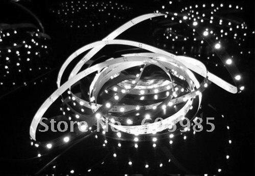 Wholesale -Waterproof LED Flexible Strip Light 5m 120LEDs/meter Energy Saving Light SMD3528 10 PCS