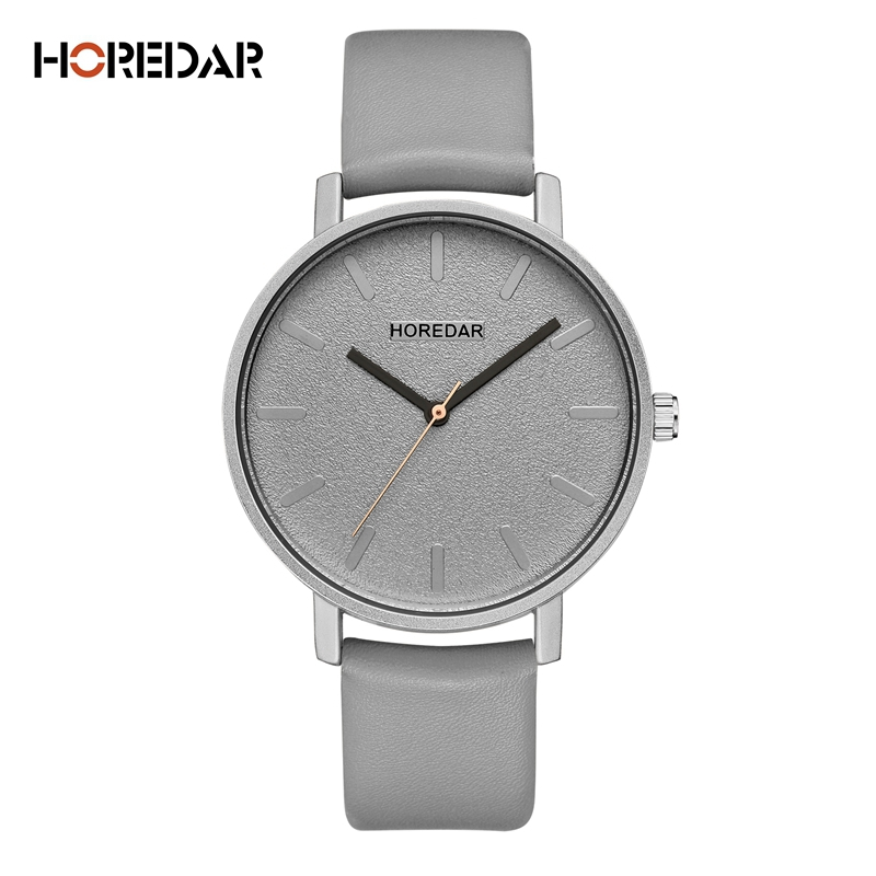 Brand Watches Women Simple Leather Wristwatch Classic Casual Quartz Watch All Match Female Clock Montre Femme 2018 saat
