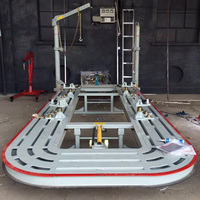 Авто тело столкновения скамейка для ремонта автомобиля станок для рихтования автомобилей столкновения тела ремонт