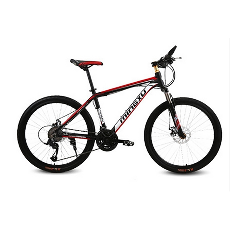 Mountain Bike High-Quality Aluminium Alloy Frame 27 Speed 26 Inch Variable Speed Double Disc Damping Hard Frame Bicycle