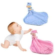 Детское защитное одеяло Мягкие плюшевый медведь плюшевые безопасности успокаивающее одеяло игрушки для детей@ ZJF