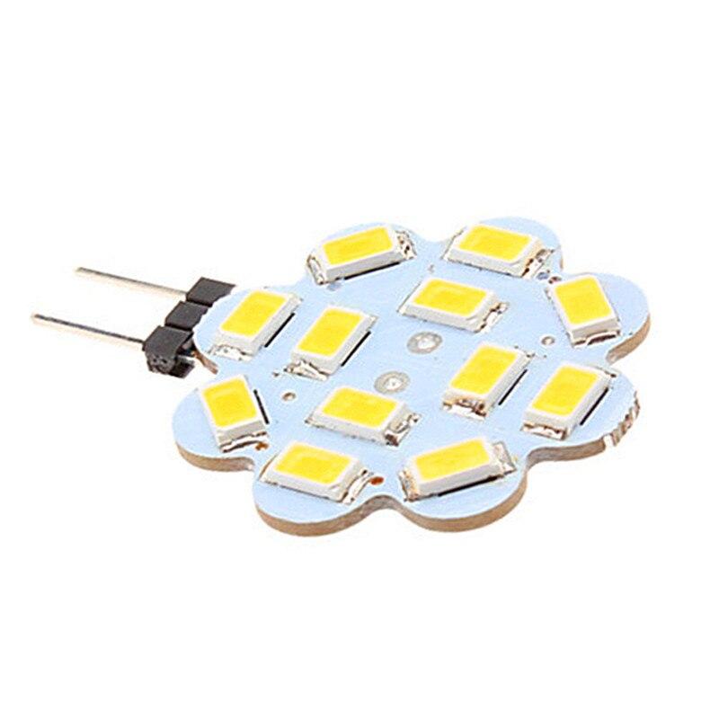 1PCS LED Bulb 3W G4 12SMD 5730 LED 5630 DC 12V 30MM Diameter PCB Material LED Spot Light Light