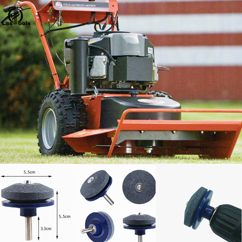 Universal Grinding Drill Sharpener Lawnmower Faster Rotary Drill Blade Sharpener Grinding Tool Garden Lawn Mower Parts Drill Bit