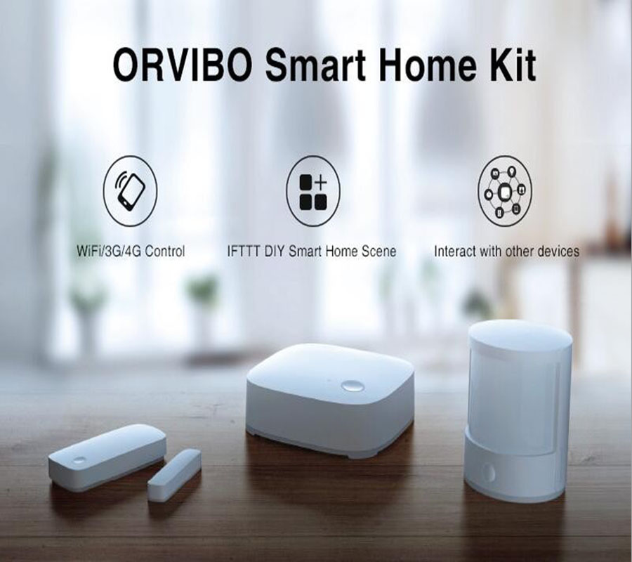 orvibo zigbee smart home automation controller motion door sensor hub wifi wireless internet. Black Bedroom Furniture Sets. Home Design Ideas