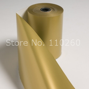 Metallic Gold Wrapping Paper Metallic Gold Tissue Paper for Gift Wrapping 50x70 cm 250pcs lot Free