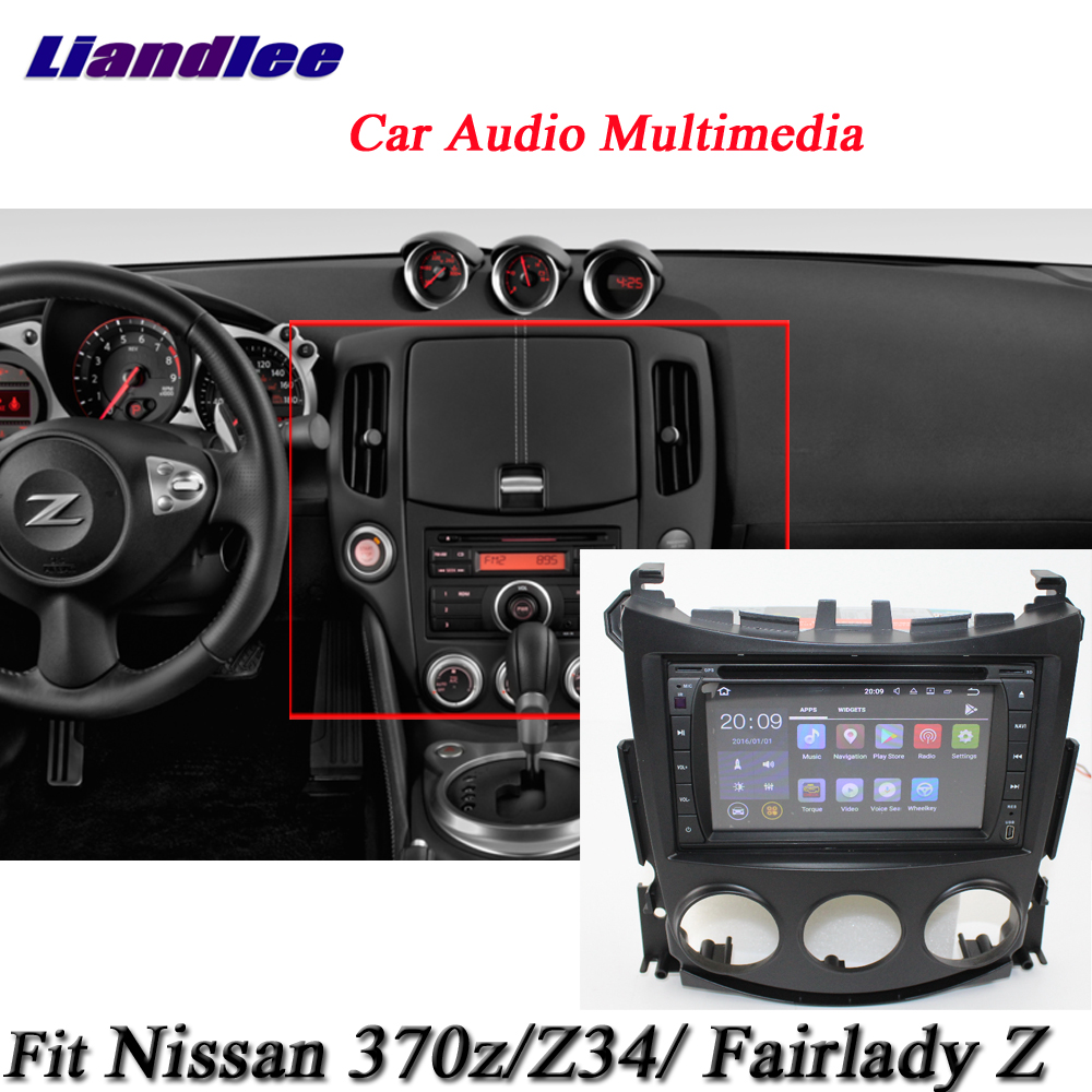 liandlee car android system for nissan 370z fairlady z. Black Bedroom Furniture Sets. Home Design Ideas