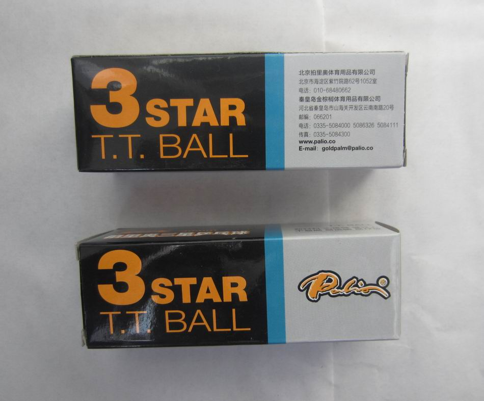 Original palio 40 edition seamless table tennis ball wholesales total 6pieces table tennis rackets racquet sports ITTF
