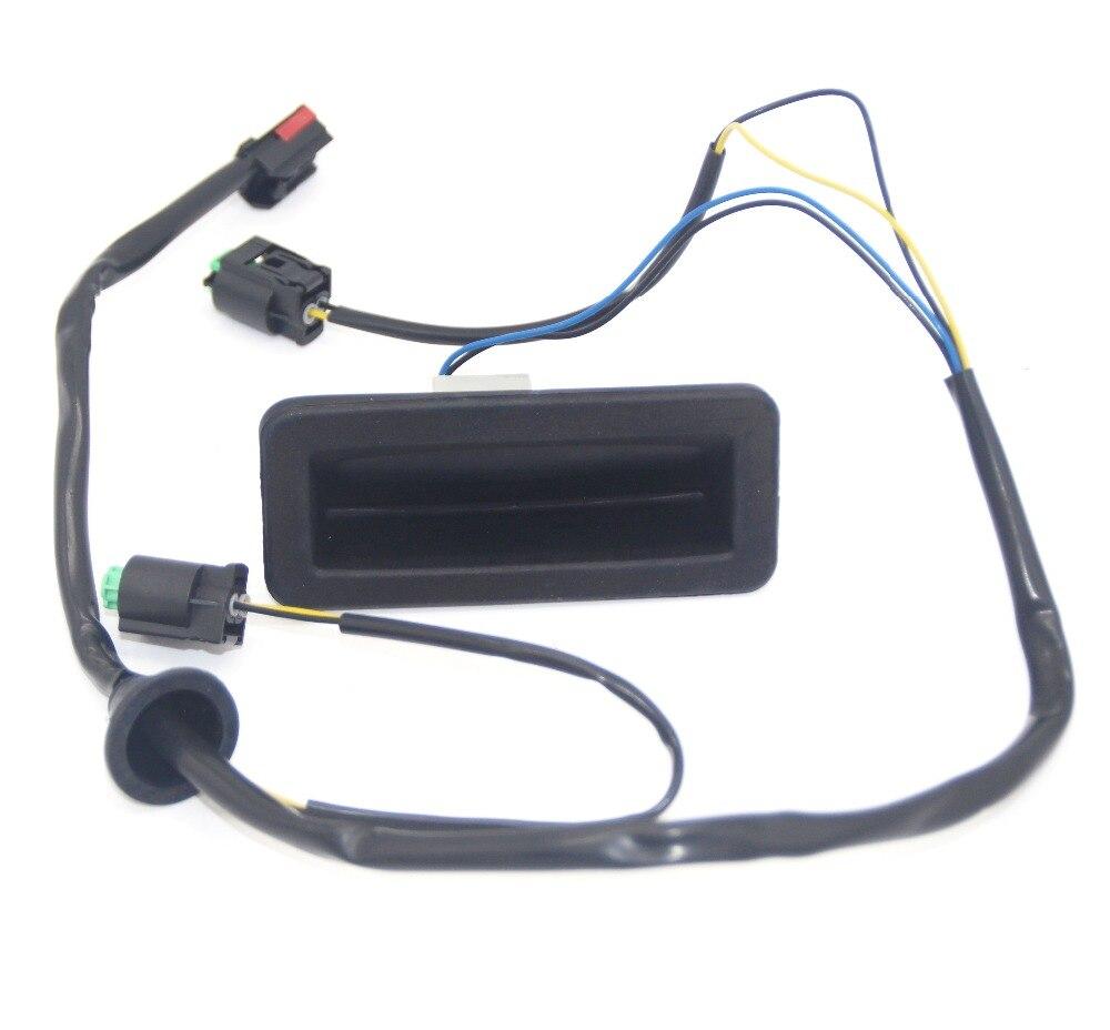 Lr020997 liberação da bagageira lidar com interruptor de reparo & fiação para land rover freelander 2