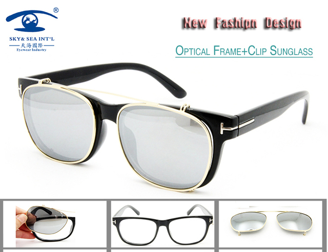 New Fashion Tom Brand Designer Retro Eyeglasses Optical Frame with ...