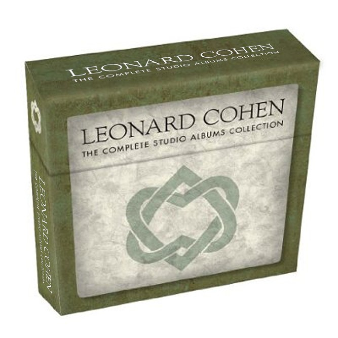 Leonard Cohen 11CD Complete Studio Albums Collection Music CD Box Set Cd Album Drop Shipping cd диск pink floyd wish you were here immersion box set 5 cd