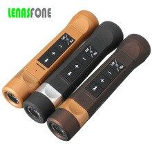Открытый Водонепроницаемый Bluetooth Динамик с светодиодный фонарик Спорт стерео Портативный Велосипеды Беспроводной Динамик с микрофоном для велосипеда