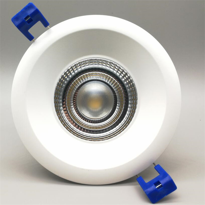 12pcs Newest COB Led Ceiling Down lights Recessed Downlight 9W 15W 20W LED Spot Lamp Indoor Lighting for Home AC85-265V