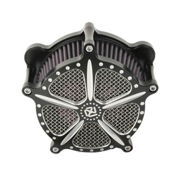 Motorcycle Air Cleaner Intake Filter For Harley Dyna Street Electra Glide Fatboy 11-12 FLSTSE 13-14 FXSBSE for harley softail dyna touring street glide road glide electra glide motorcycle air cleaner kit intake filter chrome