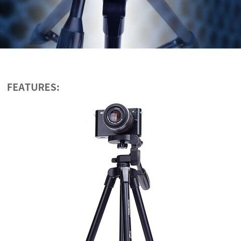 VCT-520 Tripod Professional Portable Monopod Travel Aluminium Camera Tripod/Accessories/Stand Dslr Camera Trepied Appareil Photo Karachi