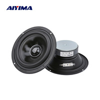 AIYIMA 2Pcs 5 Inch Audio Portable Sound Speakers Column 4 Ohm 40 W 25 Cores Mindrange Speaker Home Theater Music Loudspeaker