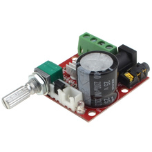 Brand New DC 12V Mini Amplifier Board 10W+10W Class D Amplifier+Free shipping -10000117 gzlozone pnp sanken a1216 jlh1969 single ended class a power amplifier kit 10w 10w