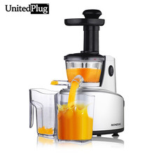 UnitedPlug 250W 1000ml capacity Juicer automatic orange juice machine electric slow juicer multi function food processor SJ-01