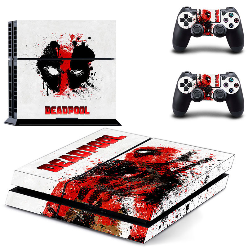 Popular game stickers PS4 Skin Stickers For Playstation 4 Console Controllers Gamepad Vinyl Decals Cover For Play Station 4