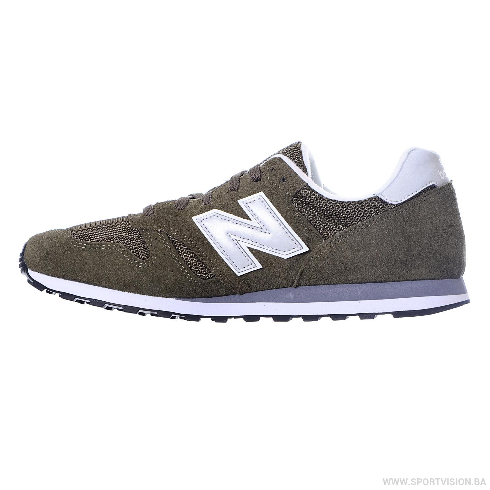 NEW BALANCE Mens Unisex ML373OLV, Streetwear, Green Grey