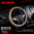 Car Steering-Wheel Cover Silicone Green Materials steering wheel cover Four Seasons General fit for 36/38cm steering wheel