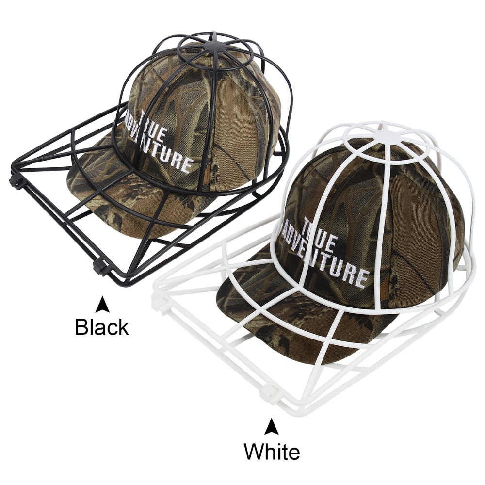 d6d4fff0b93 ... New Hat Cleaner Cap Washer Baseball Cap Washer Rack Baseball Hat  Cleaning Protector Black And White ...