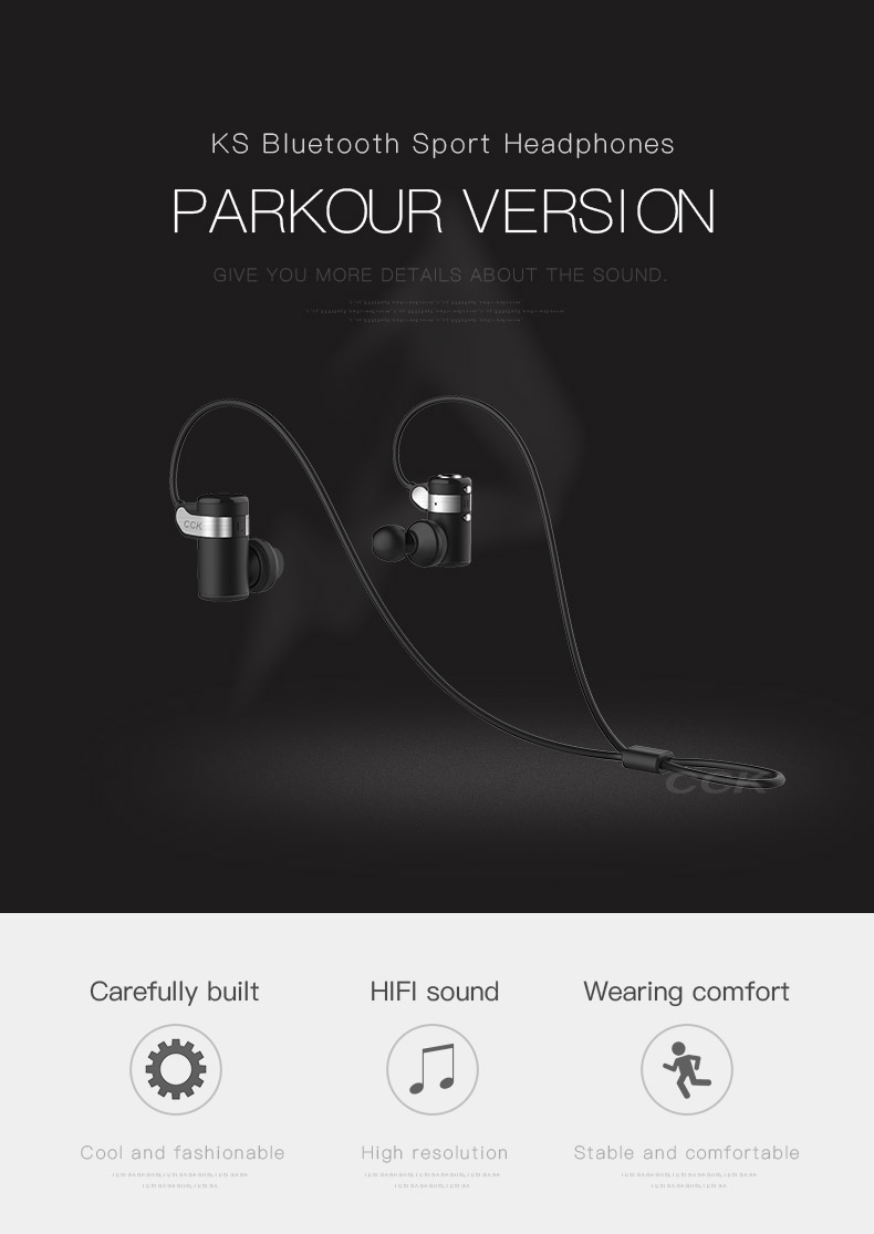 Bluedio New Brand Cck Ks Parkour Hifi Wireless Earphones Sport In Original Bluetooth 41 Headphones 01