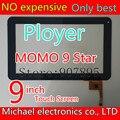 9 pulgadas QSD E-C97008-02 condensador capacitancia de la pantalla táctil de pantalla de cristal para A10 A13 A20 A23tablet pc observando tamaño y color
