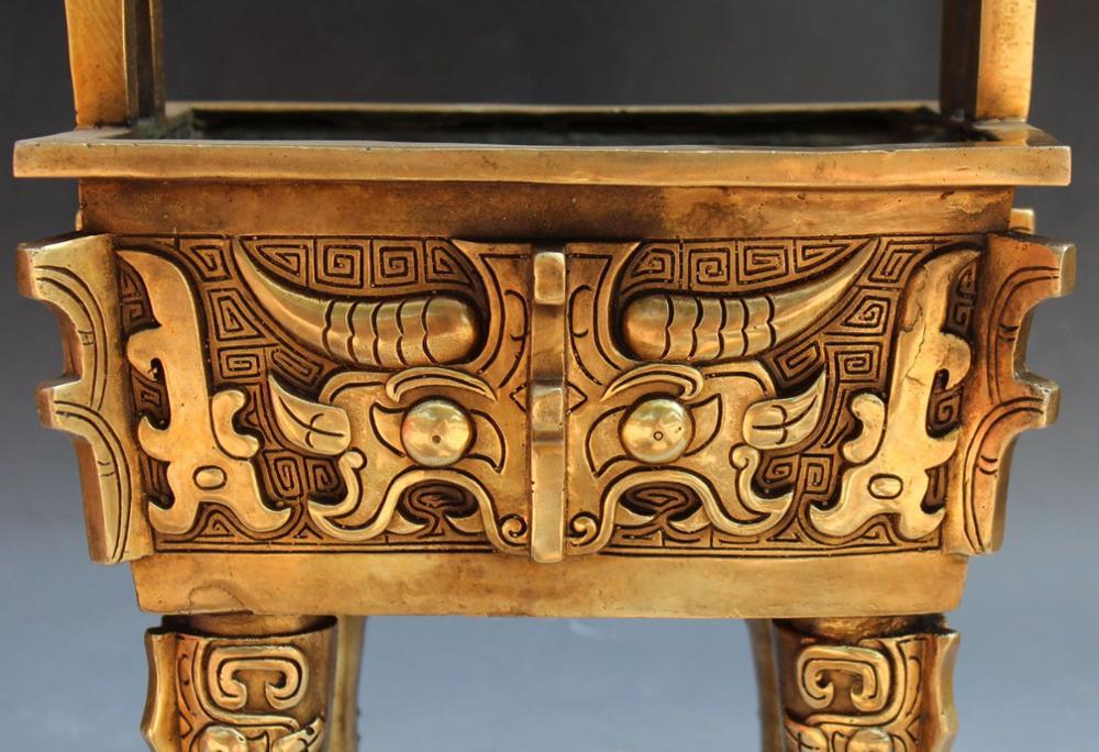 Chinese Dynasty Palace Bronze Incense Burner 1
