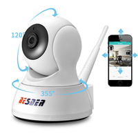 BESDER HD 720P Home Security IP Camera Two Way Audio Wireless Mini Camera 1MP IR Night