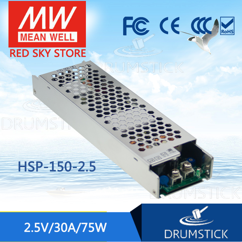 MEAN WELL HSP-150-2.5 2.5V 30A meanwell HSP-150 2.5V 75W Single Output with PFC Function Power Supply [Real6] leading products mean well sp 320 27 27v 11 7a meanwell sp 320 27v 315 9w single output with pfc function power supply
