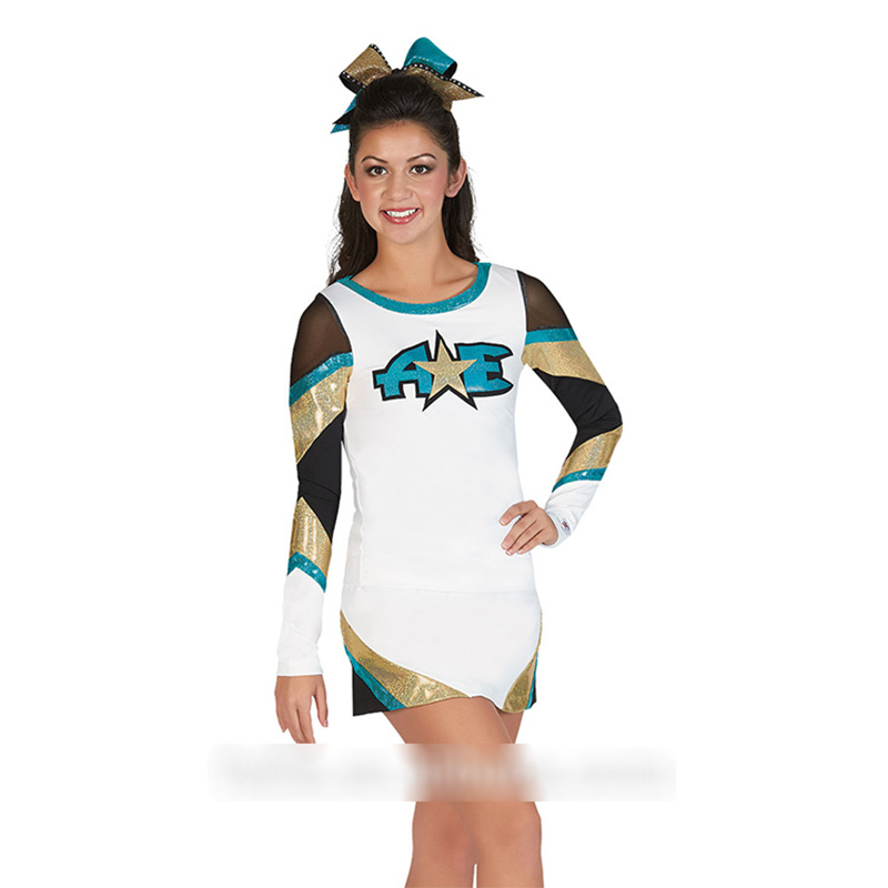 Professional Cheerleader Uniform Cheerleader Outfit Custom Your Style Performance Dress Costume Cloth