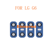 Electermi 30pcs G6 Back Camera Lens Glass For LG Rear With Sticker Ahesive Replacement