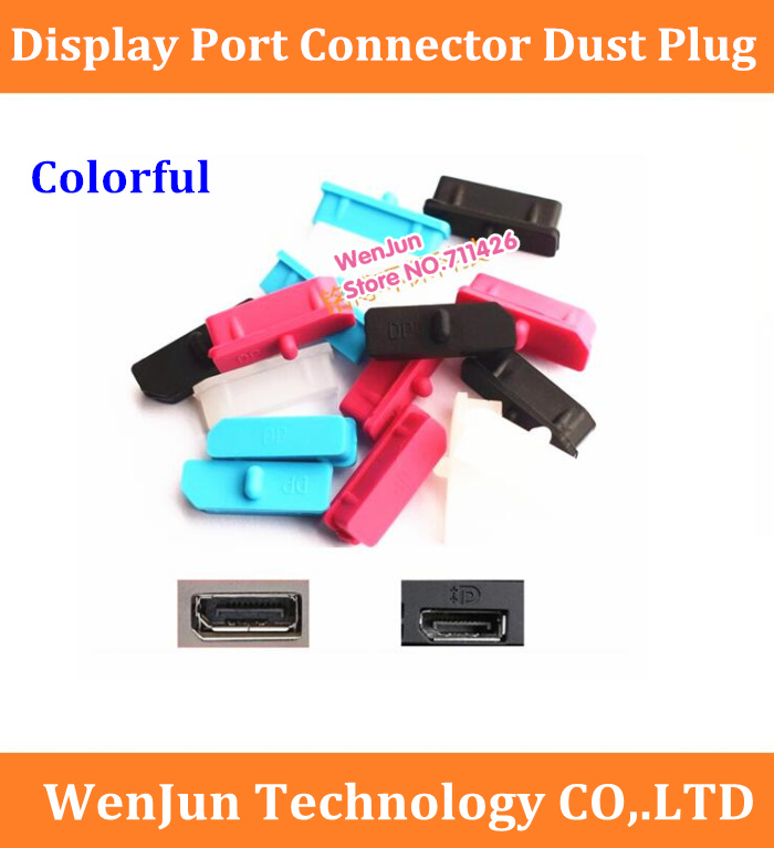 Free Shipping High Quality Colorful Display Port Connector Dust Plug /Display Port Dust Cover /dustproof Stopper For Laptop