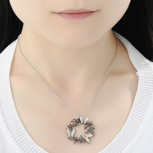 Image 5 - Santuzza Silver Necklaces Pendants For Women Natural Stone Pendant fit for Necklace 925 Sterling Silver Slide Necklaces Pendant