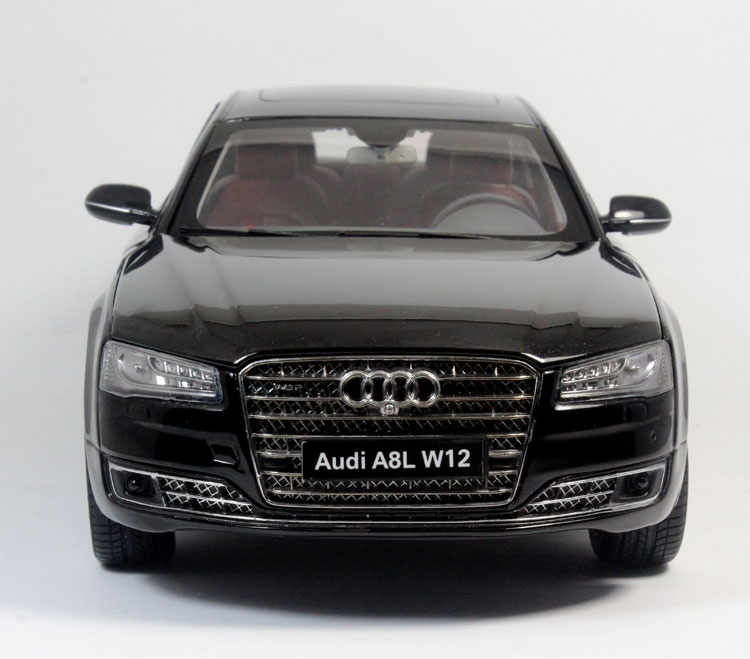 Beijing shang kyosho 1:18 AUDI A8L W12 AUDI A8 flagship version of ...