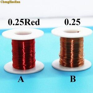 Image 1 - ChengHaoRan 0,25mm x 50m nuevo alambre de cobre esmaltado de poliuretano