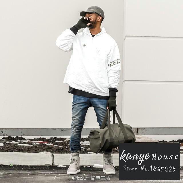 28737b60b Kanye West Yeezy3 Disorder World By La Yeezus Tour Jackets White